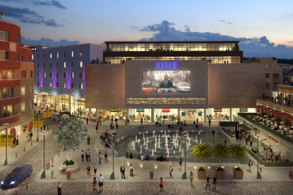 3D visualisation – Brewery Square Night View
