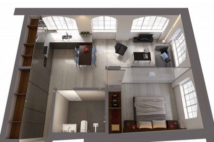 CGI_Bayham-Place_Flat-7_Section