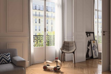 CGI – Interior Design Paris Apartment