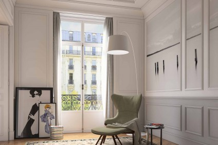 Paris Architectural Visualisation of period interior design
