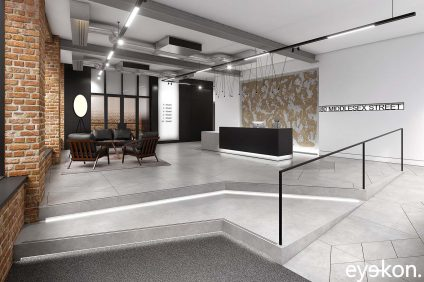 Marketing visualisation office reception
