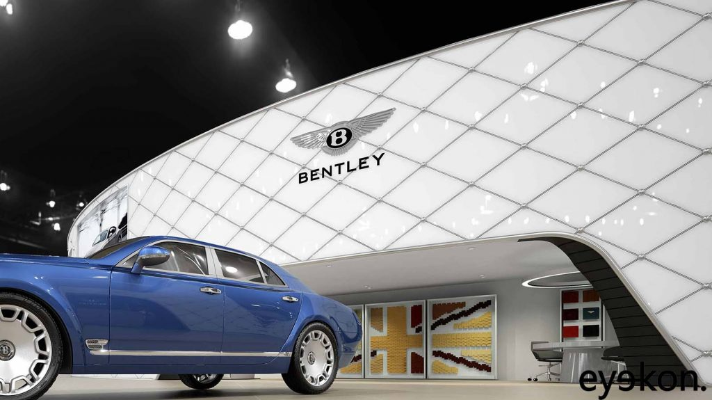 Bentley marketing visualisation