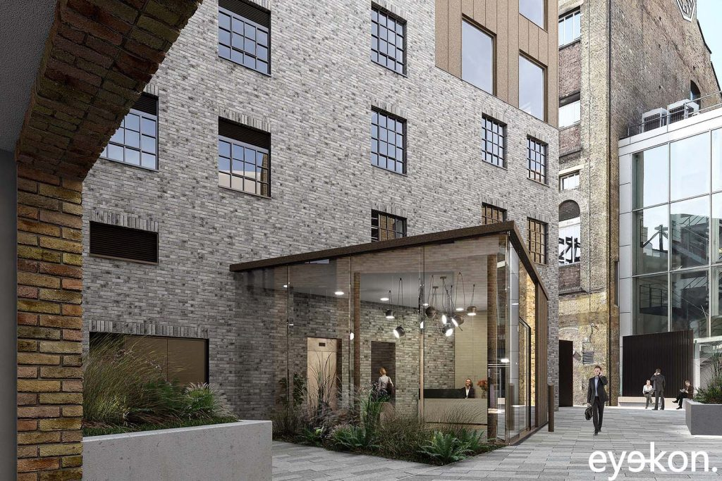 Architectural visualisation London – Courtyard