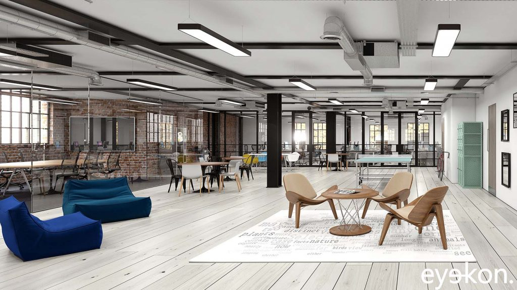 Office interior – Marketing Visual